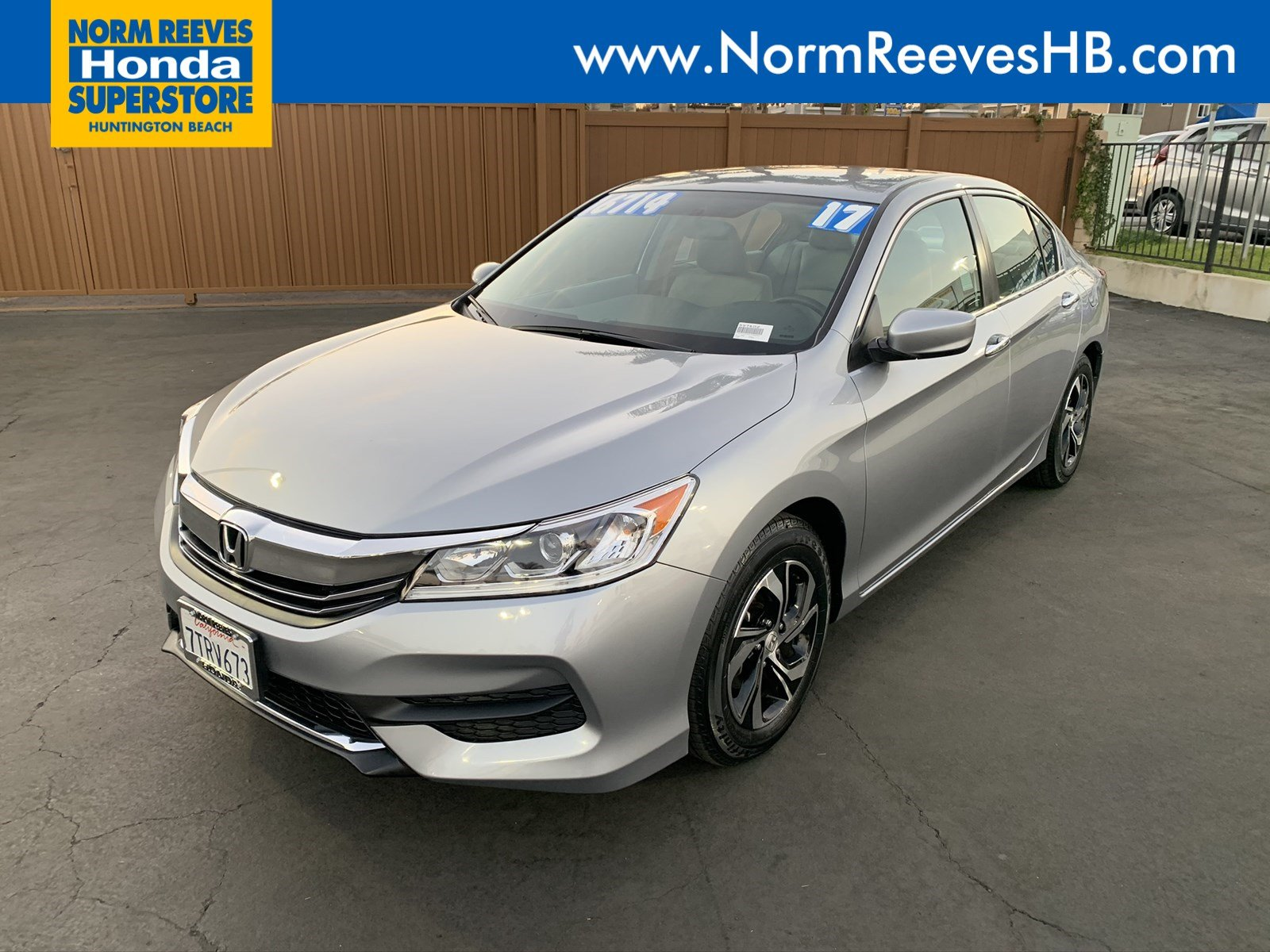 Certified Pre-Owned 2017 Honda Accord Sedan LX
