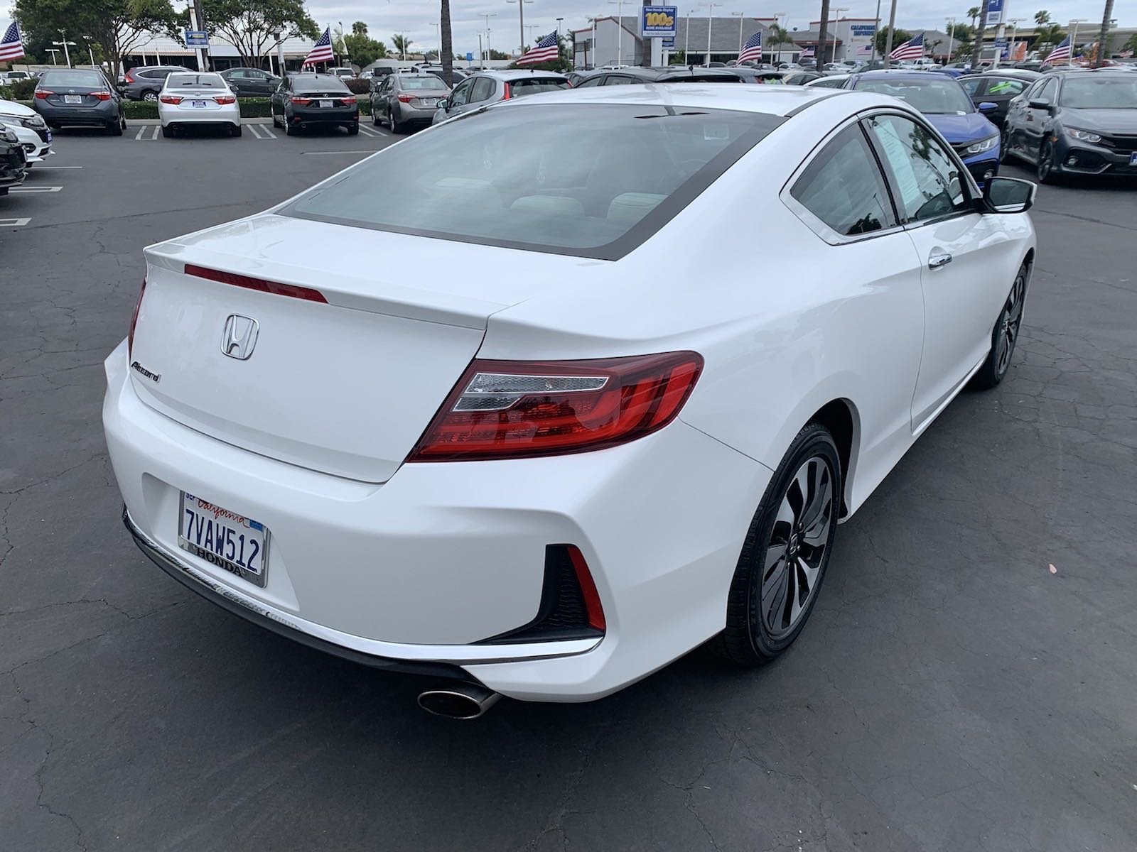Certified Pre-Owned 2016 Honda Accord Coupe LX-S