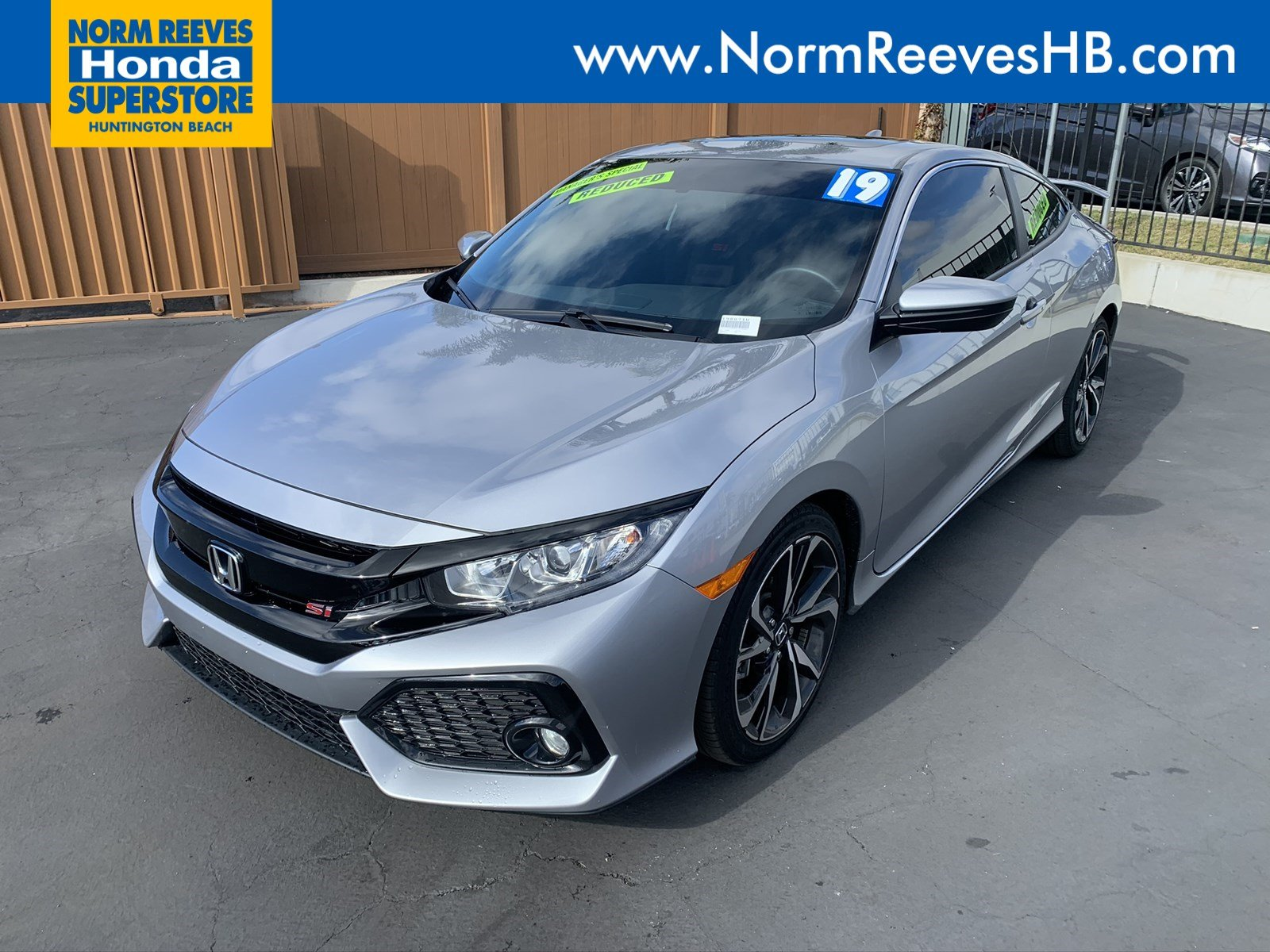 Pre-Owned 2019 Honda Civic Si Coupe
