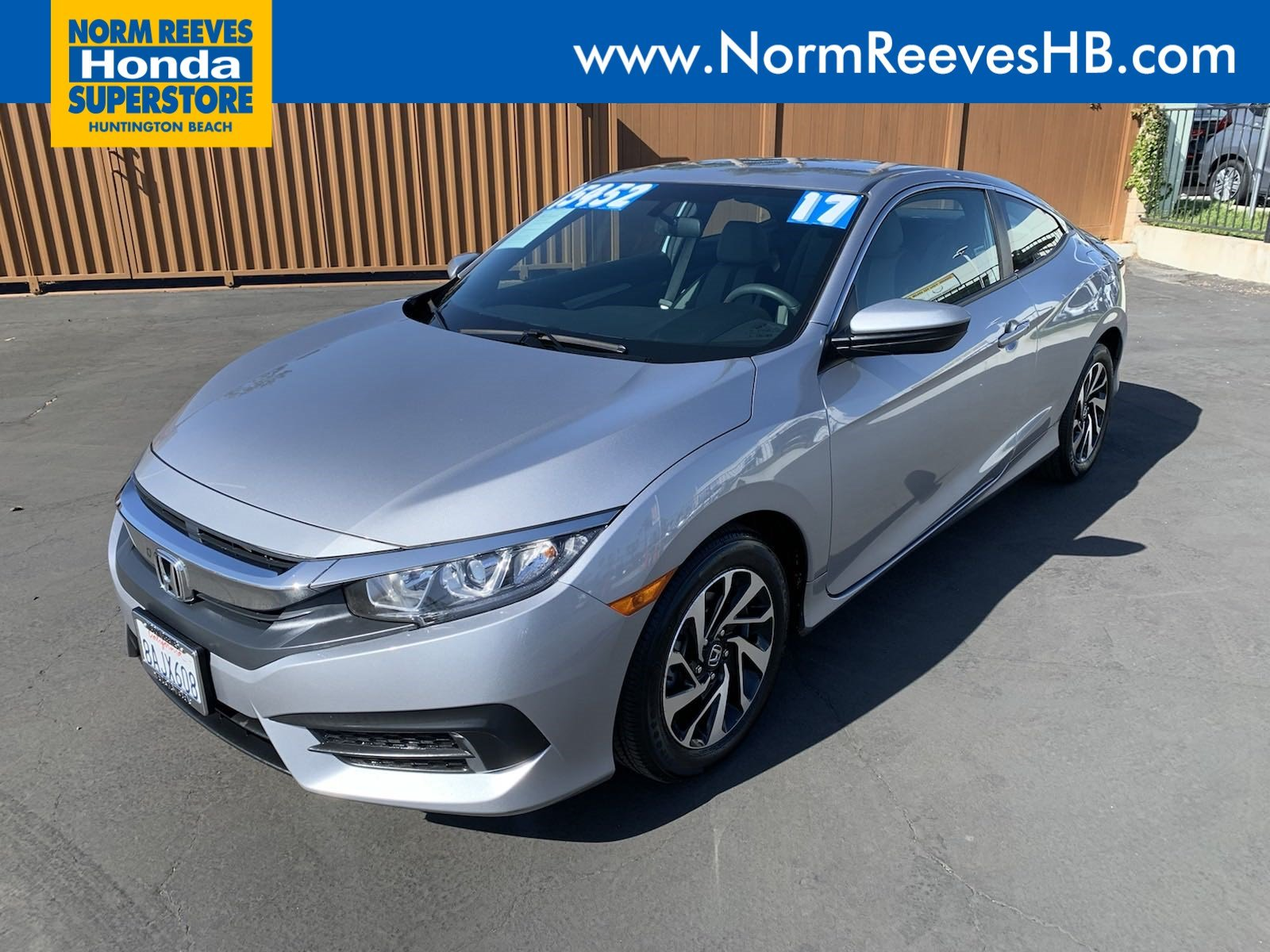 Certified Pre-Owned 2017 Honda Civic Coupe LX