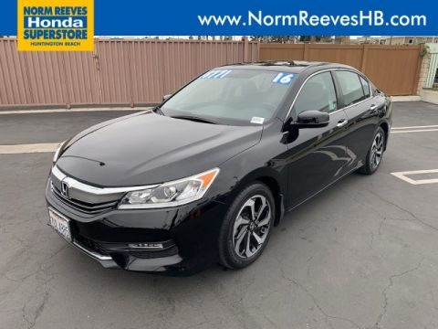 Certified Pre-Owned 2016 Honda Accord Sedan EX