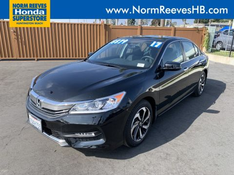 Certified Pre-Owned 2017 Honda Accord Sedan EX