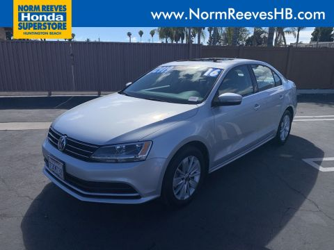 Pre-Owned 2016 Volkswagen Jetta Sedan 1.4T SE w/Connectivity